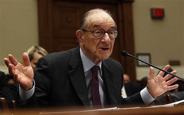 Alan Greenspan backs UK 'austerity'