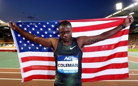Sprinter Christian Coleman says he will live with a smear on his reputation after doping violation is dropped