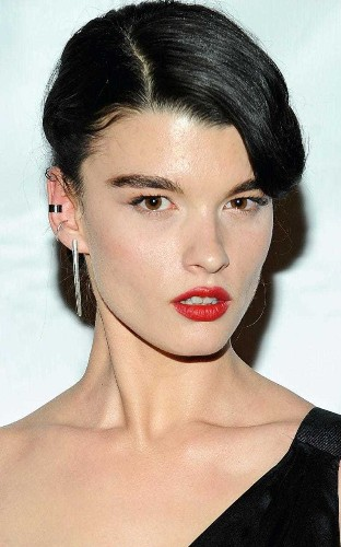 Model Crystal Renn on the £20 face mask she swears by for her skin