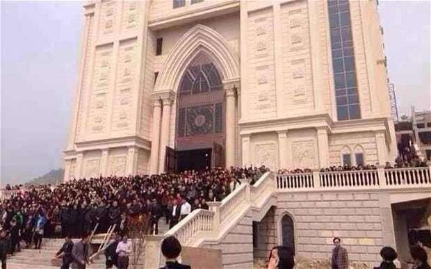 China denies church 'demolition campaign' but says Christianity's growth 'excessive'