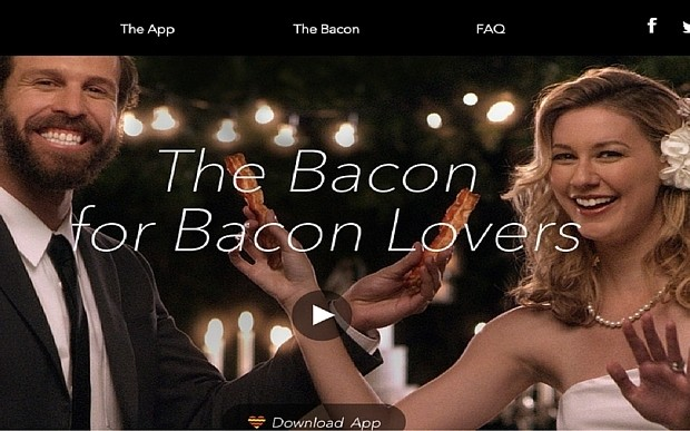Would you use this ridiculous dating app aimed at 'bacon lovers'?