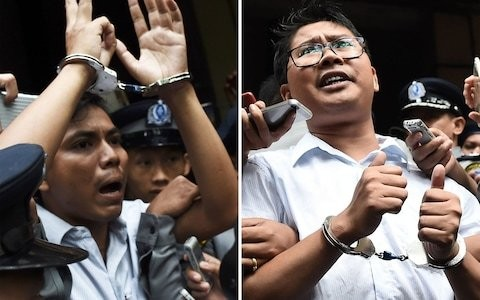 Burma's top court rejects final appeal by jailed Reuters journalists