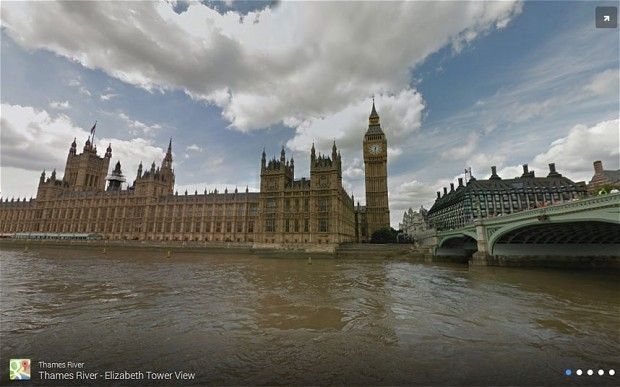 River Thames will join Google Street View