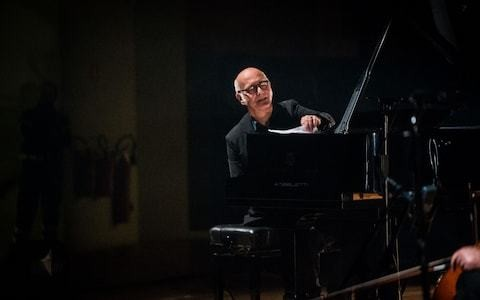 Ludovico Einaudi review, Barbican: almost lulled to sleep by a lovely one-trick pony