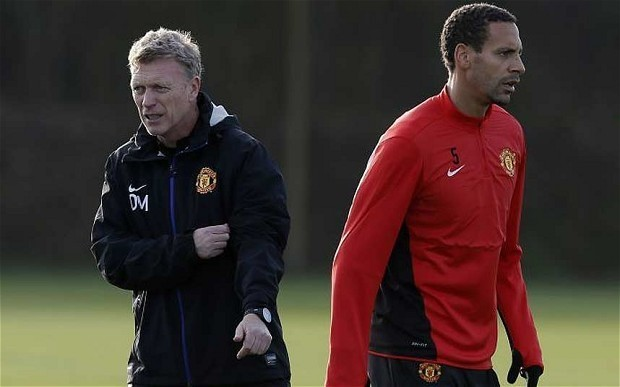 Rio Ferdinand to leave Manchester United in summer as David Moyes calls time on his career