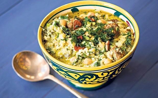 Persian yogurt soup recipe