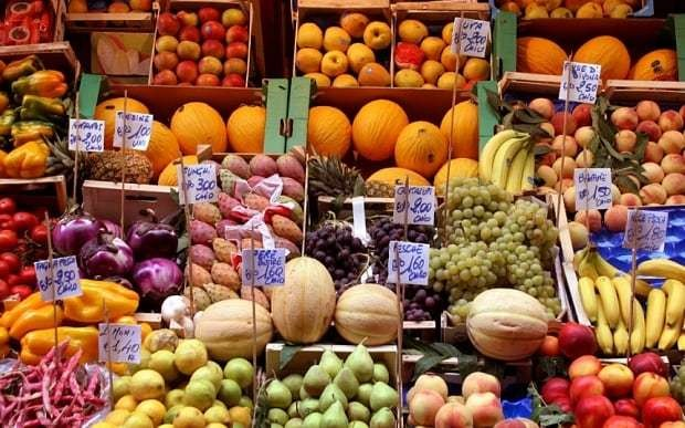 How long can you keep fresh fruit and veg?