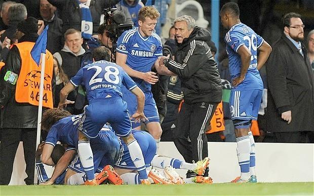 Chelsea 2 Paris Saint-Germain 0: match report