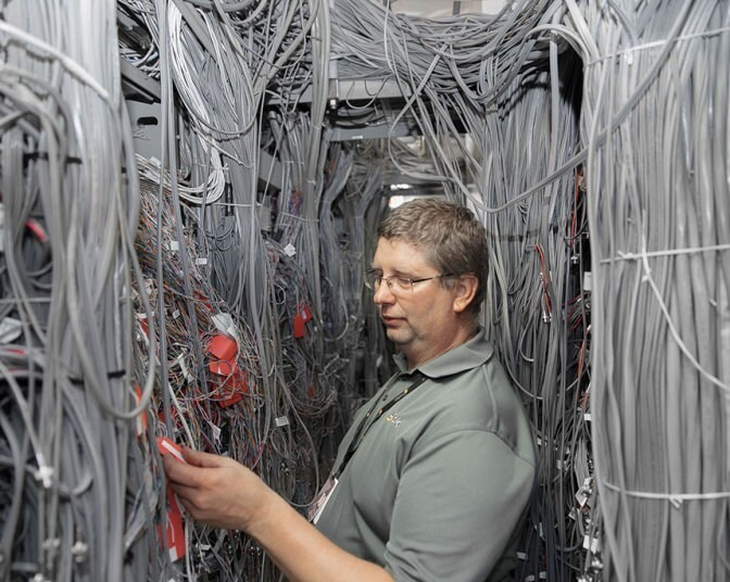 Manhattan's hidden hubs of global internet infrastructure, in pictures - Telegraph