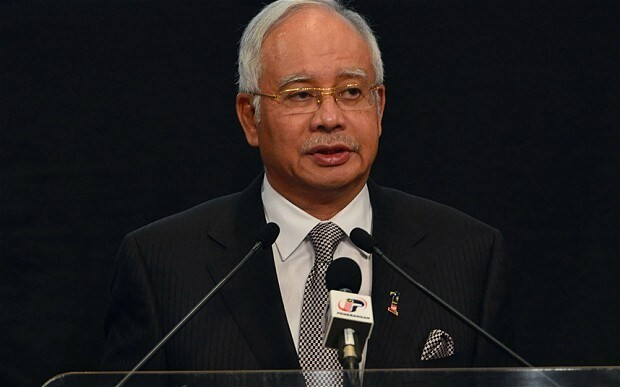 Malaysian prime minister refuses to declare MH370 lost