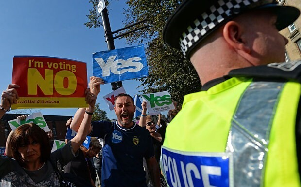 Scots won't get independence from a Yes vote
