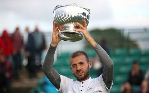 Dan Evans wins second straight Challenger title ahead of Stan Wawrinka Queen's test