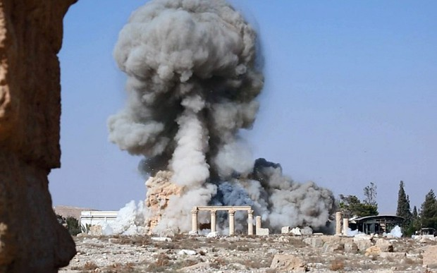 Isil jihadists blow up tower tombs at Syria's Palmyra