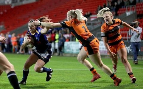 Leeds teenager Fran Goldthorp tipped for top as a professional sportswoman - but not necessarily in rugby league