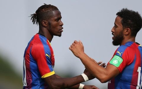 Andros Townsend urges more players to speak out about racism as Wilfried Zaha is subjected to ugly Twitter taunts