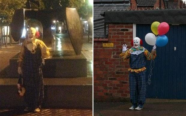 I'll carry on my reign of terror, says Northampton clown