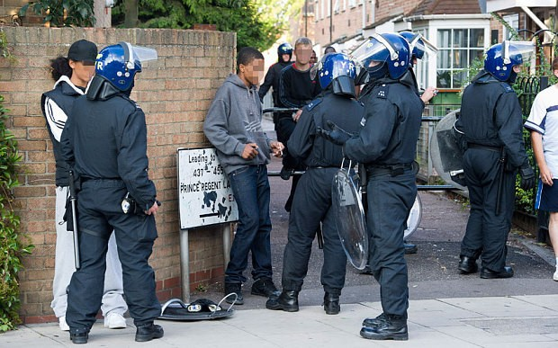 Reduction in police stop and search techniques blamed for rise in knife crime