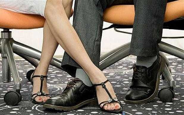 Sexy, stressful and slapstick: The truth about workplace romances