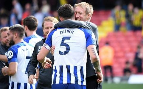 How Graham Potter's positive thinking paid an instant dividend for Brighton
