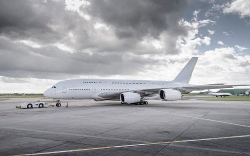 A decade after entering service, the first A380s are being stripped and sold for parts