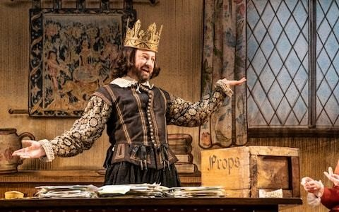 The Upstart Crow review, Gielgud: welcome back Ben Elton, all is forgiven
