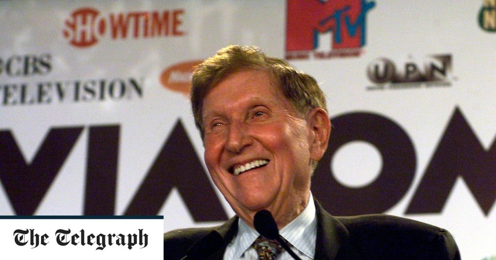 Sumner Redstone, media mogul who built up Viacom and was 'a force of nature' – obituary