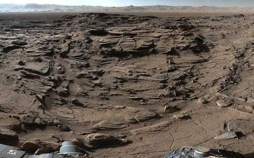 Nasa releases stunning 360-degree view of Mars taken by Curiosity rover