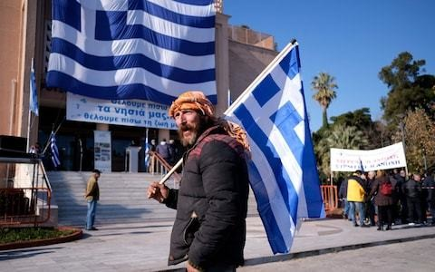 Greek islands stage general strike against migrant camps, saying 'we want our islands back'