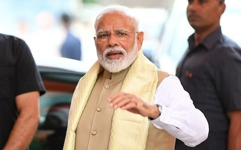India election: Narendra Modi heading for landslide win, early results show