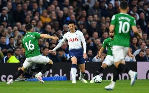 Tottenham vs Brighton, Premier League: live score and latest updates