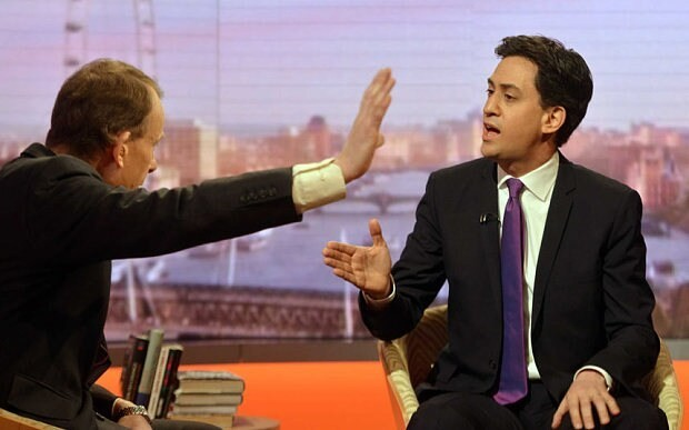 Ed Miliband said he wanted to 'weaponise' NHS in secret meeting with BBC executives