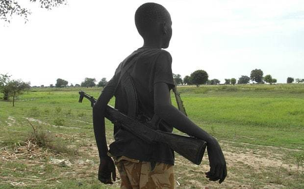 Child soldier, 14, already a veteran of South Sudan's civil war