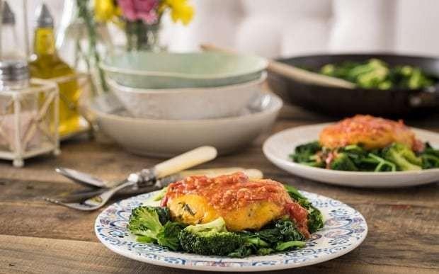 Deliciously Ella: spiced potato cakes with tomato sauce recipe