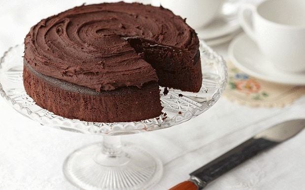 How to cook with herbs: Chocolate basil cake