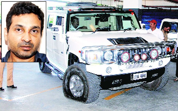 Millionaire businessman murdered guard by ramming him with his Hummer