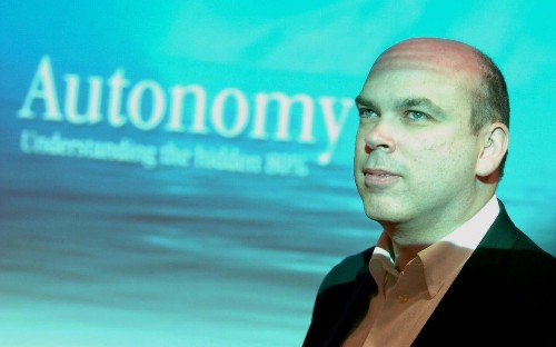 No less than everything is at stake for former Autonomy boss Mike Lynch