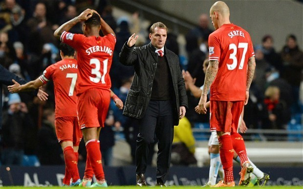 Liverpool are still firmly in the Premier League title race, says manager Brendan Rodgers