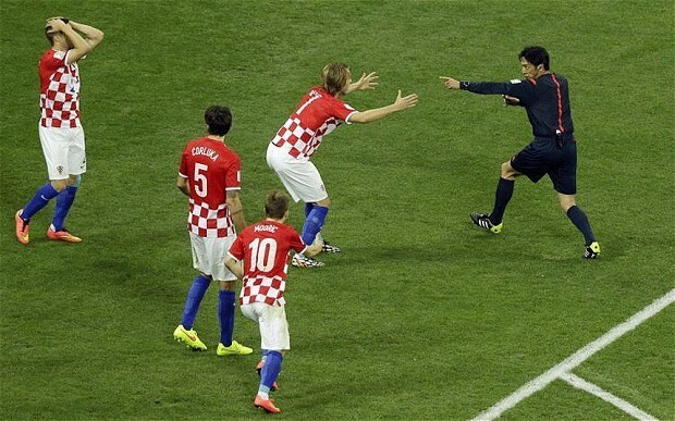 Croatia manager Niko Kovac says referee was 'out of his depth' following defeat to Brazil in World Cup 2014 opener