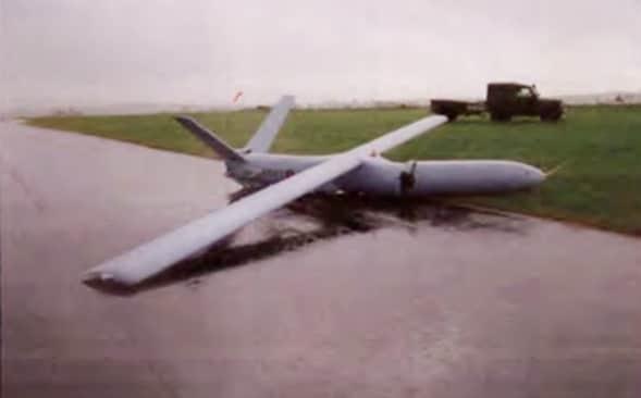Army drone wrecked in computer glitch crash