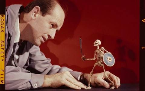 From Godzilla-size chickens to a stop-motion Aeneid: the lost worlds of Ray Harryhausen