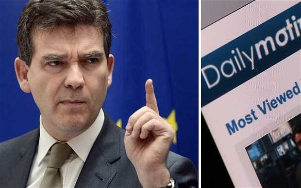 France intervenes to block Yahoo! bid for control of Dailymotion as 'not in French interests'