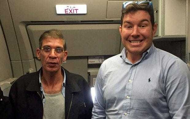 British passenger took a cheeky picture with the EgyptAir hijacker