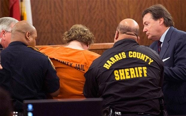 Texas mass murder suspect collapses in court as he recounts crime