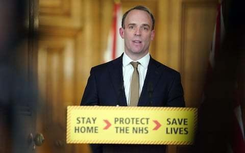 Dominic Raab looked nervous... and that made me feel nervous, too