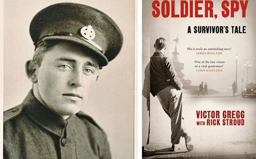 Rifleman Victor Gregg remembers WW2: 'After the war I was torn into bits'