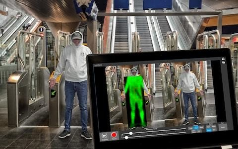 Body heat scanners used on the LA Metro are deployed in London to tackle knife crime epidemic