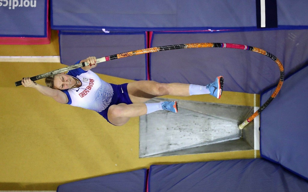 Holly Bradshaw: I'm still hoping for international athletics competition this autumn