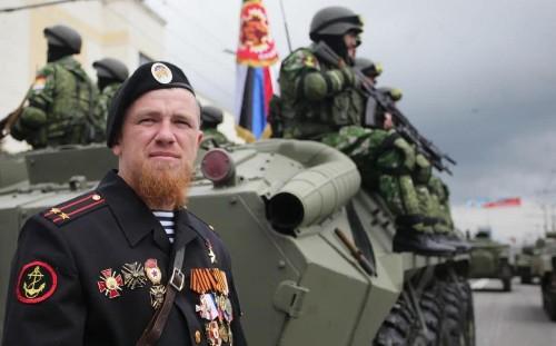 'Declaration of war' in Ukraine as pro-Russian rebel commander Arseniy 'Motorola' Pavlov is assassinated in Donetsk lift bombing