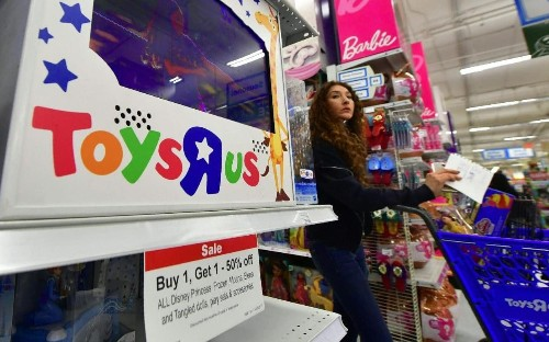 Toys R Us seeks £120m lifeline as survival battle intensifies