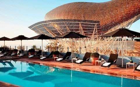 The best five-star hotels in Barcelona